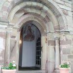 Eingangsportal an der Südseite