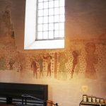 Fresken zur Christophoruslegende an der Südseite