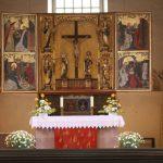 Spätgotischer Altar von 1498