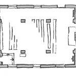 Grundriss der Klosterkirche