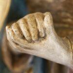 betende Hände Marias, Flügelaltar von 1498, © Dorothea Heise